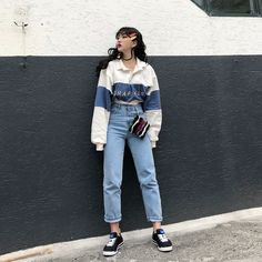 Look For Less: Fashion Week Suit Set By Michelle Take Aim - Until The Very Trend - aesthetic fashion boho - Korean Street Fashion, Korean Fashion Trends, Asian Fashion, Look Fashion, Korean Fashion Ulzzang, Ulzzang Fashion Summer, Cute Korean Fashion, Tokyo Street Fashion, Korea Fashion