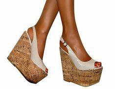Helle Comfort Ela Brown Womens Slip on Heels Sandals
