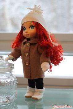 Для маленьких принцесс Диснея. Выкройки из блога tuulialla.blogspot.ru Даны на листе формата А4, без припусков на швы. Пальто