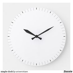 Shop simple clock created by univercitizen. Clocks, Indoor, Display, Simple, Artwork, Prints, Interior, Floor Space