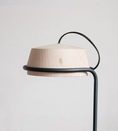 "nothingtochance:  "" PUMPAL-Wooden Lamp for Desk / Denitsa Boyadzhieva  """
