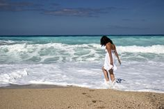 Girl, Sea, Beach, Young, Summer, People, Beautiful
