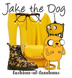 """Jake the Dog"" by fofandoms ❤ liked on Polyvore featuring M Missoni, MANGO, MICHAEL Michael Kors and Cutler and Gross"