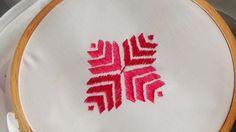 Hand Embroidery: Phulkari stitch