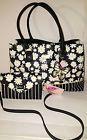 ♮§ Nwt BETSEY JOHNSON #Daisy stripe TOTE &+Crossbody  #wallet #clutch handba... DoItNow http://ebay.to/2nhrykQ