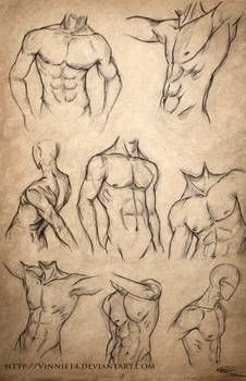 by annette - Abs body guidelines. by annette - Cool Art Drawings, Pencil Art Drawings, Art Drawings Sketches, Drawings Of Love, Couple Drawings, Animal Sketches, Anatomy Sketches, Body Sketches, Body Drawing