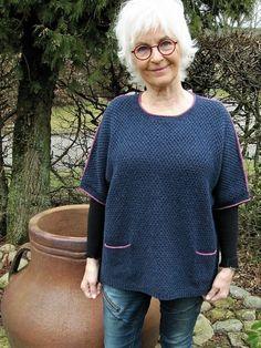 Jette3 Linen Stitch, Summer Knitting, Going Gray, Grey Hair, White Hair, Drops Design, Pullover, Knit Crochet, Crochet Vests