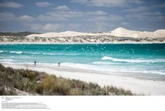 TOP BEACH: Four Eyre Peninsula beaches feature in a new book 101 Best Australian Beaches, including Gunyah Beach (as seen from Almonta Beach) in Coffin Bay National Park. Great Places, Places To Go, Beautiful Places, South Australia, Australia Travel, Australian Beach, Land Of Oz, Blog Voyage, Tourism