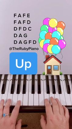 therubypiano (@therubypiano) Official TikTok | Watch therubypiano's Newest TikTok Videos Piano Music With Letters, Piano Sheet Music Letters, Piano Music Notes, Easy Piano Sheet Music, Violin Music, Song Notes, Piano Tutorial, Ukulele Songs, Music Mood
