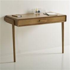 en blanc - Bureau console, vintage, Colas (La Redoute)