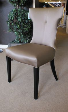 Silk Wingback Dining Chair £162, buy six get one half price