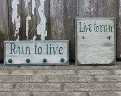 Medals Holder Display and Race Bib Rack by StrutYourStuffSignCo, $45.00