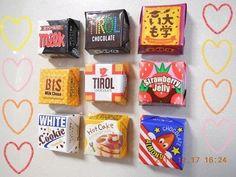 チロルチョコマグネット♪の作り方|その他|文具・本|作品カテゴリ|アトリエ Diy And Crafts, Crafts For Kids, Arts And Crafts, Diy Projects To Try, Craft Projects, Small Fridges, Pretend Food, Bazaar Ideas, Diy Toys