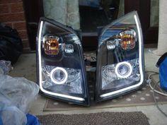 projectors with halos Transit Custom, Welding Art Projects, Ford Transit, Projectors, Van Life, Vans, Trucks, Sport, Ideas