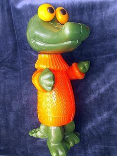Игрушка Крокодил Гена СССР