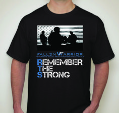 Remember The Strong - Men's Army Patriotic T-Shirt