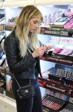 ASHLEY BENSON Shopping for Buxom Cosmetics at Ulta Beauty in Los Angeles