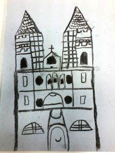 Katedrala - ugljen - 3.r. Calendar, Snoopy, Holiday Decor, Artwork, Fictional Characters, Work Of Art, Auguste Rodin Artwork, Artworks, Life Planner