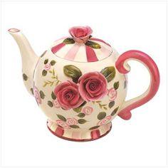 Rose Garden Teapot