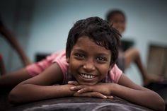 SOS Children's Villages kid. SOS-Kinderdorf