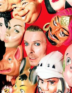 Head of David Bowie by Dave LaChapelle