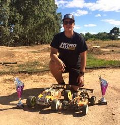 Cameron takes Buggy and Truggy in 1:8 Nitro Victorian Driver series Round 1