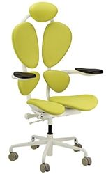 Eurotech Chakra Green Office Chair on White Frame Modular Furniture, Funky Furniture, Home Office Furniture, Green Chakra, Best Office Chair, Green Office, Cool Chairs, Desk Chairs, Office Chairs