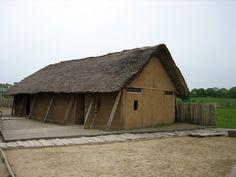 Replica Viking Houses