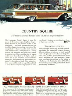https://flic.kr/p/bA4mXq | 1960 Ford Country Squire Station Wagon