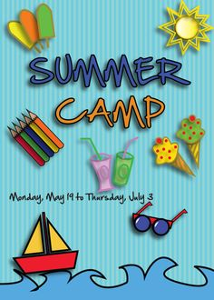 Here You Will Find A Free Flyer For Promoting Summer Camp Events In Your Local Area Can Get Additional Details At The Image Link