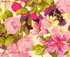 Flower Garden Bunches Grass, Martha Negley for Rowan Westminster