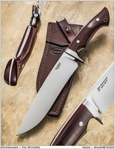 Photos SharpByCoop • Gallery of Handmade Knives - Page 59