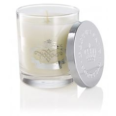 White & Silver Edition Scented Candle