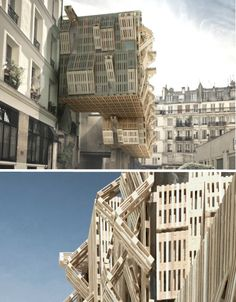 Parasitic Architecture: 15 Precariously Perched Structures