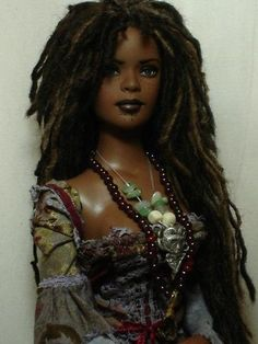 I don't know who made this!  But she a baddddd chick!  Love this doll! Calypso! Love it also