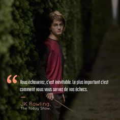 Voici 18 citations qui prouvent que Harry Potter et JK Rowling peuvent vraiment être inspirants!