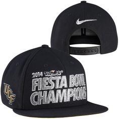 4502fb46b01b8 Nike UCF Knights Fiesta Bowl Champions Locker Room Players Snapback Hat -  Back