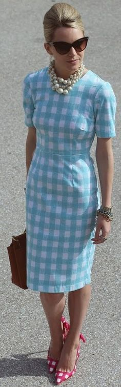 gingham/gingham ♥✤ | Keep the Glamour | BeStayBeautiful