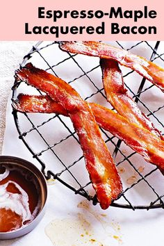 Maple and espresso goodness coats every inch of this amazing bacon! You will probably want to double or triple or quadruple this recipe! Sweet. Salty. Perfection!