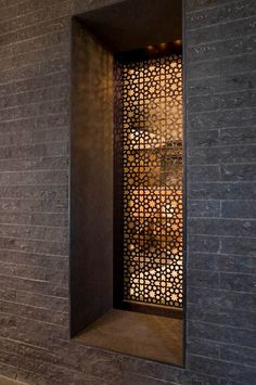 Fancy Privacy Screen Ideas for Your Home Interior Design - Decorate Your Home Islamic Architecture, Architecture Details, Home Interior, Interior And Exterior, Indian Interior Design, Laser Cut Screens, Laser Cut Panels, Decorative Screens, Metal Screen