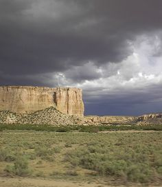 Dramatic landscape - western New Mexico