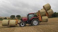 caseih tractors plowing snow - YouTube