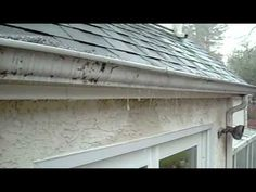 Clogged Gutter, Clean Several Times a Year or get a Gutter Guard! Gutter articles from gutter Installers.