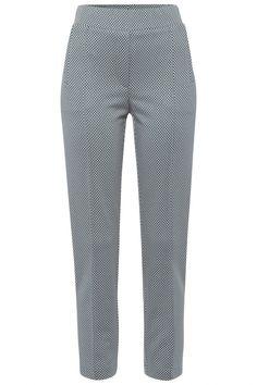 Riani Damen Stoffhose mit Print Hellblau   SAILERstyle Blazer, Pajamas, Pajama Pants, Tops, Fashion, Light Blue, Fashion Women, Clothing, Trousers