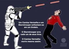 Verdades que todo fã de Star Wars e Star Trek vai entender.