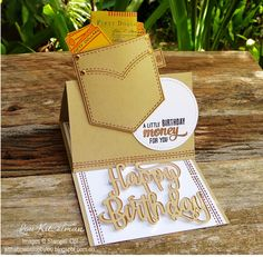 With a bow on top: Kylie's International Blog Highlight - Masculine, Pocketful of Sunshine, Stampin' Up!