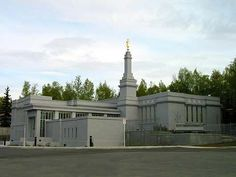 Anchorage Alaska Mormon Temple. © 2004, Michael Provard. All rights reserved.