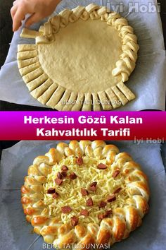 breakfast recipes are practical, easy breakfast recipes, breakfast recipes easy quick breakfast # # # breakfast in Frühstücksrezep Easy Pastry Recipes, Baking Recipes, Breakfast Items, Breakfast Recipes, Simit Recipe, Party Fotos, Pastry Design, Bread Shaping, Food Garnishes