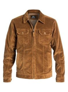 ba0122ca1 Quiksilver Mens Waterman Santa Cruz Corduroy Jacket
