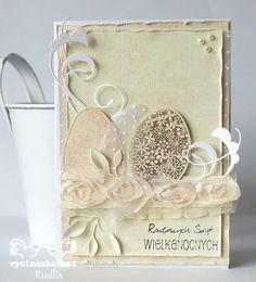 Easter card -shabby